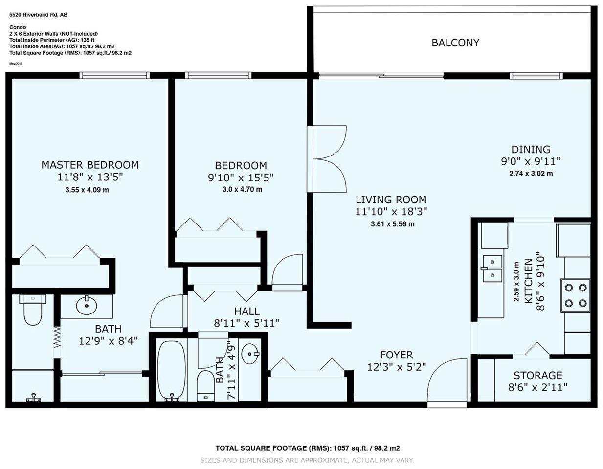 Main Photo: 313 5520 Riverbend Rd. in Edmonton: Zone 14 Condo for sale : MLS®# E4206213