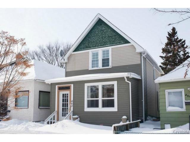Main Photo: 462 Stiles Street in WINNIPEG: West End / Wolseley Residential for sale (West Winnipeg)  : MLS®# 1403022