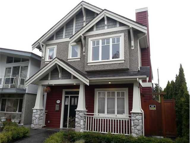 Main Photo: 2796 W 22ND Avenue in Vancouver: Arbutus House for sale (Vancouver West)  : MLS®# V1056306