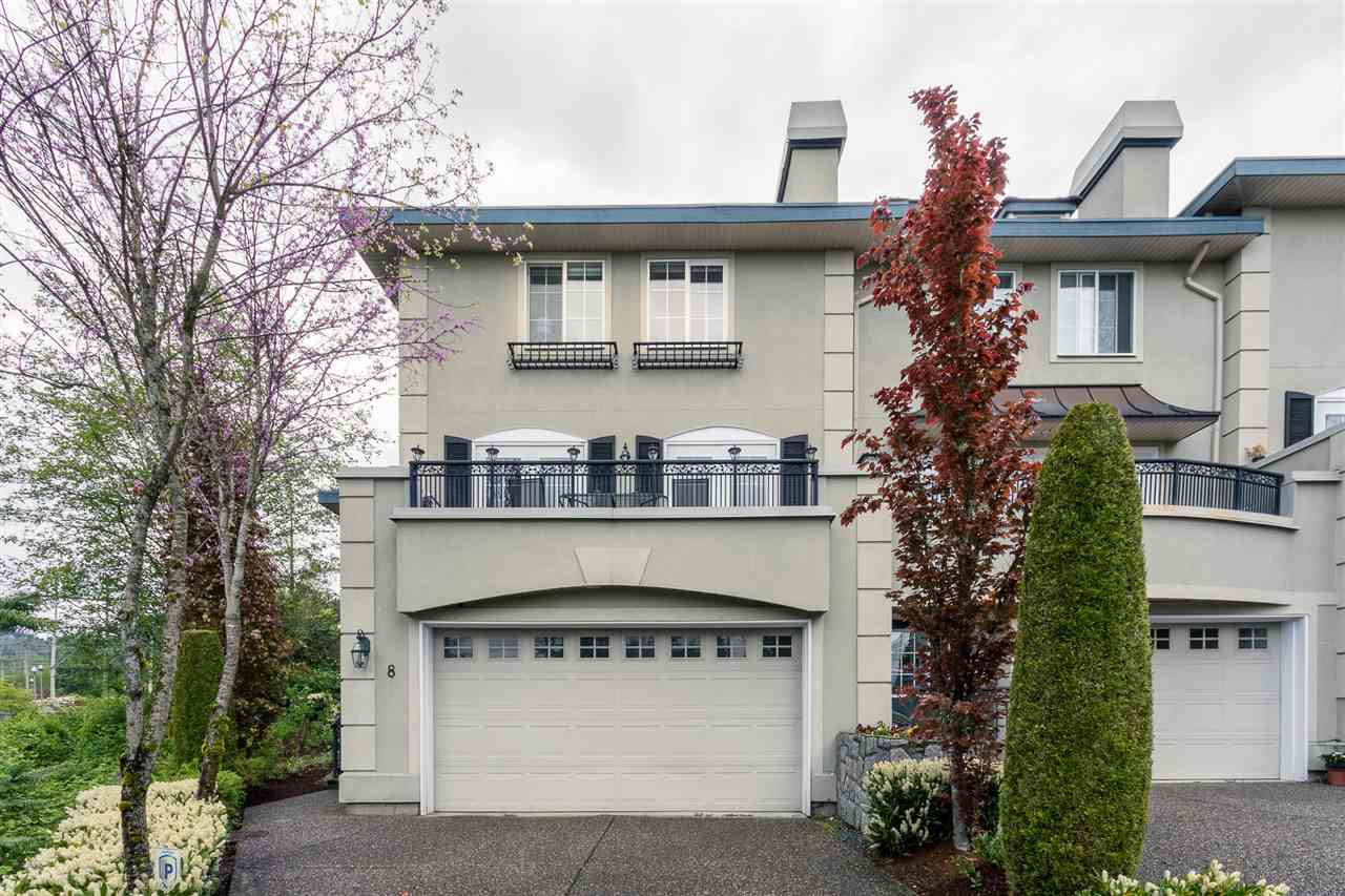"Main Photo: 8 1651 PARKWAY Boulevard in Coquitlam: Westwood Plateau Townhouse for sale in ""VERDANT CREEK"" : MLS®# R2061549"