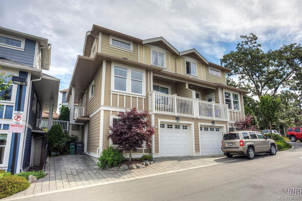 Main Photo: 8 4583 Wilkinson Rd in VICTORIA: SW Royal Oak Row/Townhouse for sale (Saanich West)  : MLS®# 734388