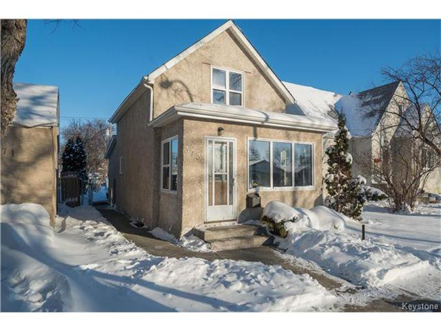 Main Photo: 373 Dubuc Street in Winnipeg: Norwood Residential for sale (2B)  : MLS®# 1630766