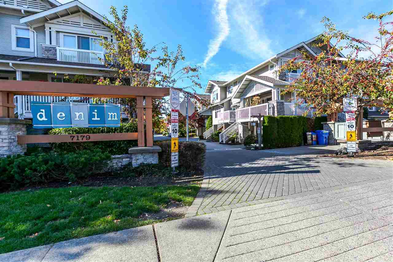 "Main Photo: 103 7179 201 Street in Langley: Willoughby Heights Townhouse for sale in ""DENIM"" : MLS®# R2131794"