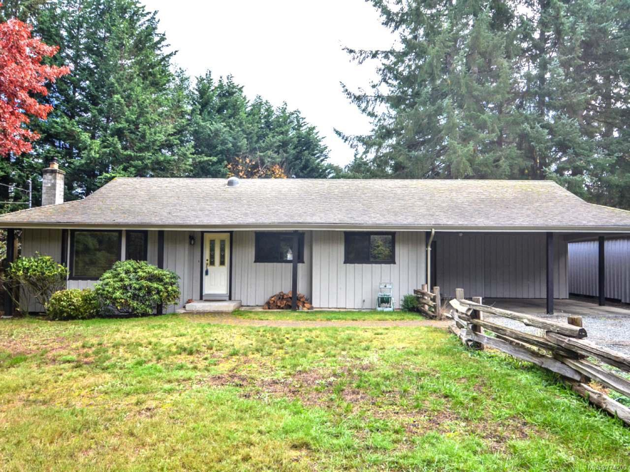 Main Photo: 4200 Forfar Rd in CAMPBELL RIVER: CR Campbell River South House for sale (Campbell River)  : MLS®# 774200