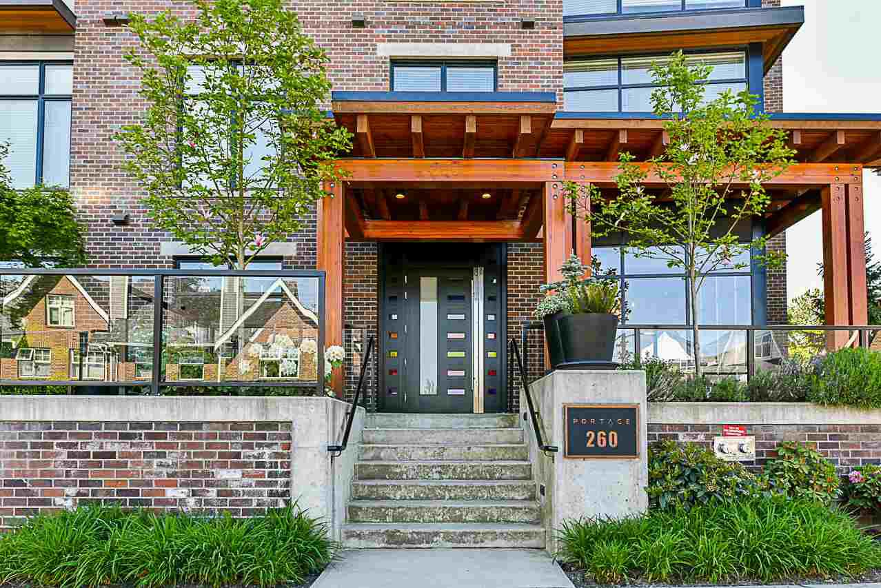 "Main Photo: 304 260 SALTER Street in New Westminster: Queensborough Condo for sale in ""Portage"" : MLS®# R2265061"
