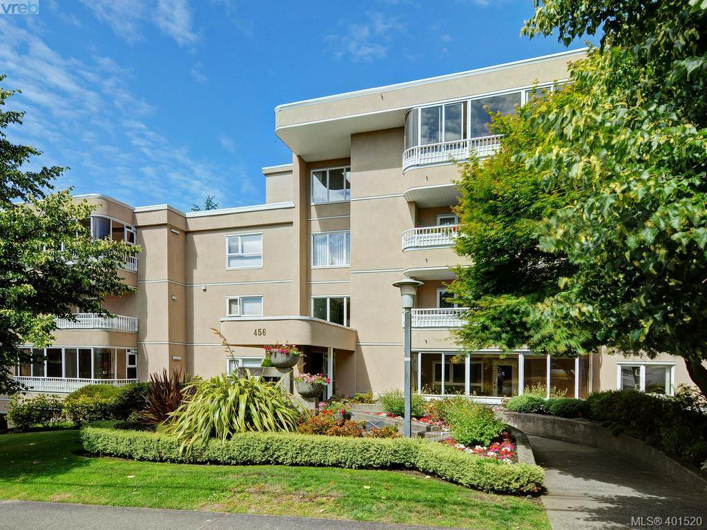 Main Photo: 303 456 Linden Avenue in SIDNEY: Vi Fairfield West Condo Apartment for sale (Victoria)  : MLS®# 401520