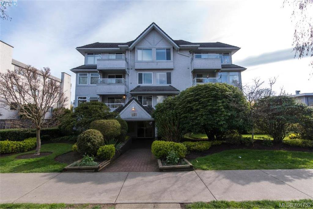 Main Photo: 204 1121 OSCAR St in VICTORIA: Vi Fairfield West Condo for sale (Victoria)  : MLS®# 801754