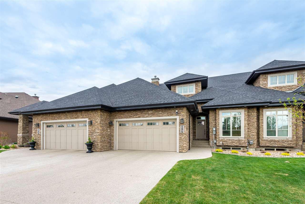 Main Photo: 184 AMBLESIDE Drive in Edmonton: Zone 56 Attached Home for sale : MLS®# E4145145