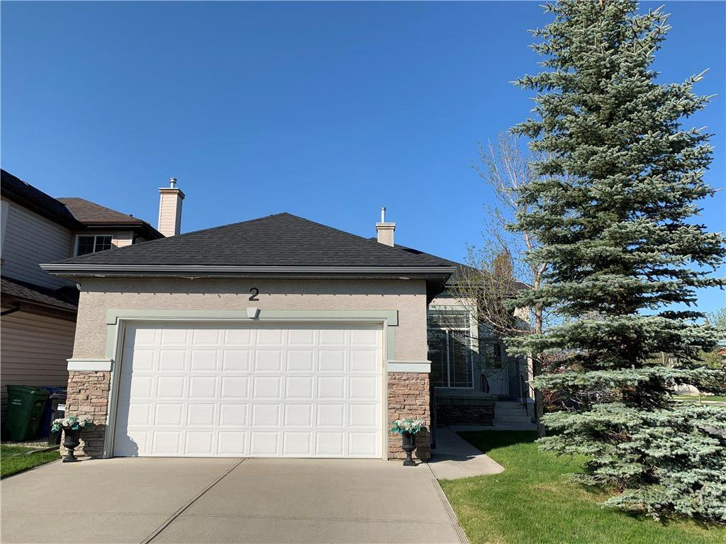 Main Photo: 2 CHAPALINA Terrace SE in Calgary: Chaparral Detached for sale : MLS®# C4238650