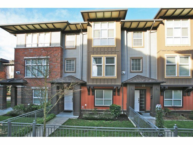 "Main Photo: # 26 18777 68A AV in Surrey: Clayton Townhouse for sale in ""COMPASS"" (Cloverdale)  : MLS®# F1404057"