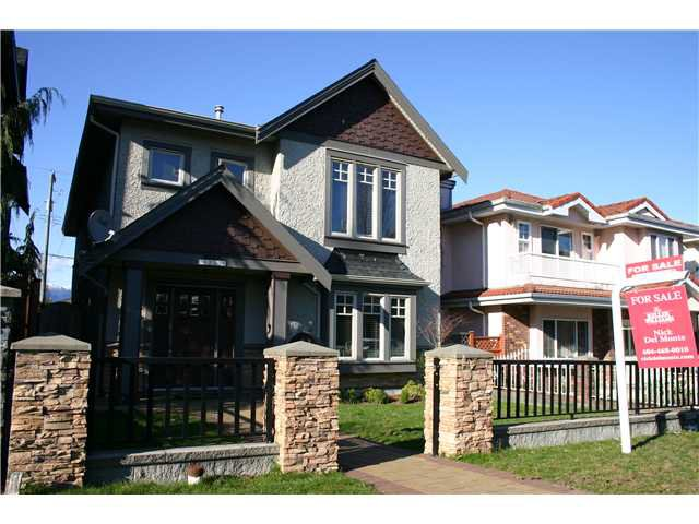 "Main Photo: 4219 ALBERT Street in Burnaby: Vancouver Heights House for sale in ""Vancouver Heights"" (Burnaby North)  : MLS®# V1055144"