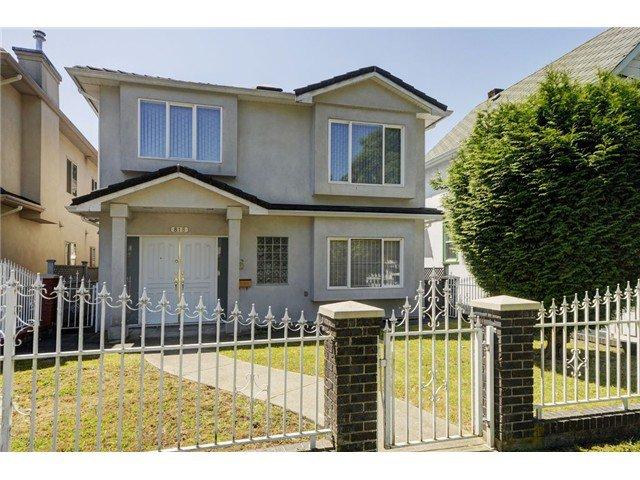 "Main Photo: 818 E 20TH Avenue in Vancouver: Fraser VE House for sale in ""FRASER"" (Vancouver East)  : MLS®# V1069306"