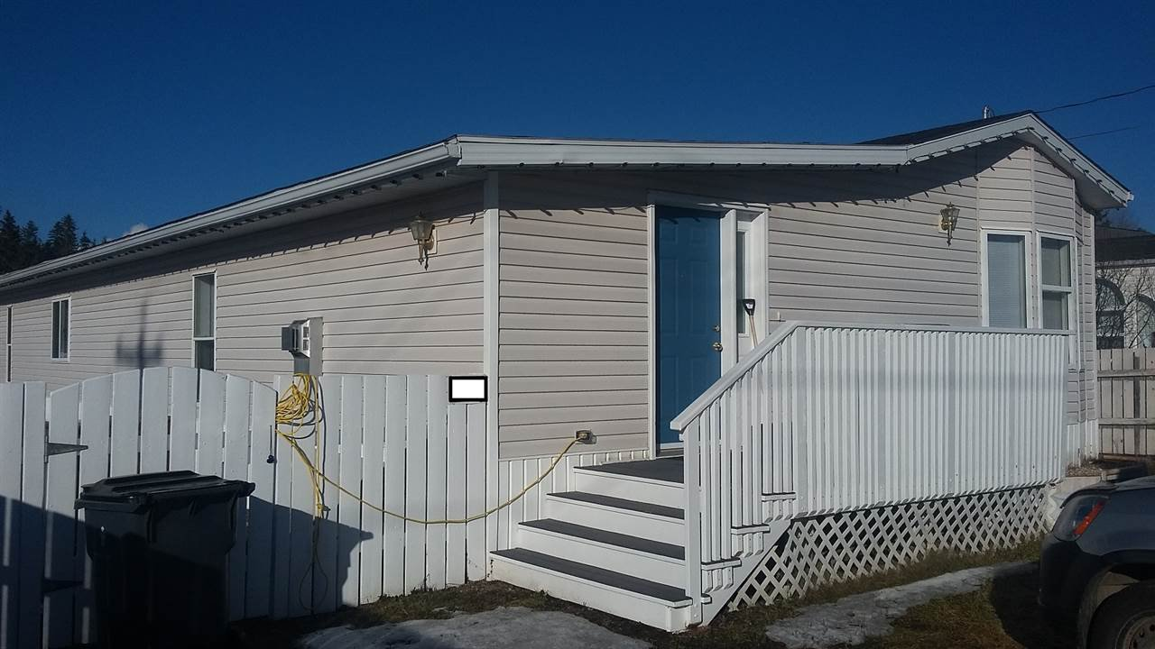 Main Photo: 587 N BLACKBURN Road in Prince George: North Blackburn Manufactured Home for sale (PG City South East (Zone 75))  : MLS®# R2038292