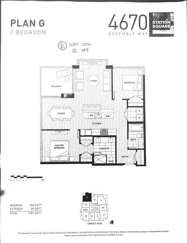 """Main Photo: 2206 4670 ASSEMBLY Way in Burnaby: Metrotown Condo for sale in """"Station Square"""" (Burnaby South)  : MLS®# R2083683"""