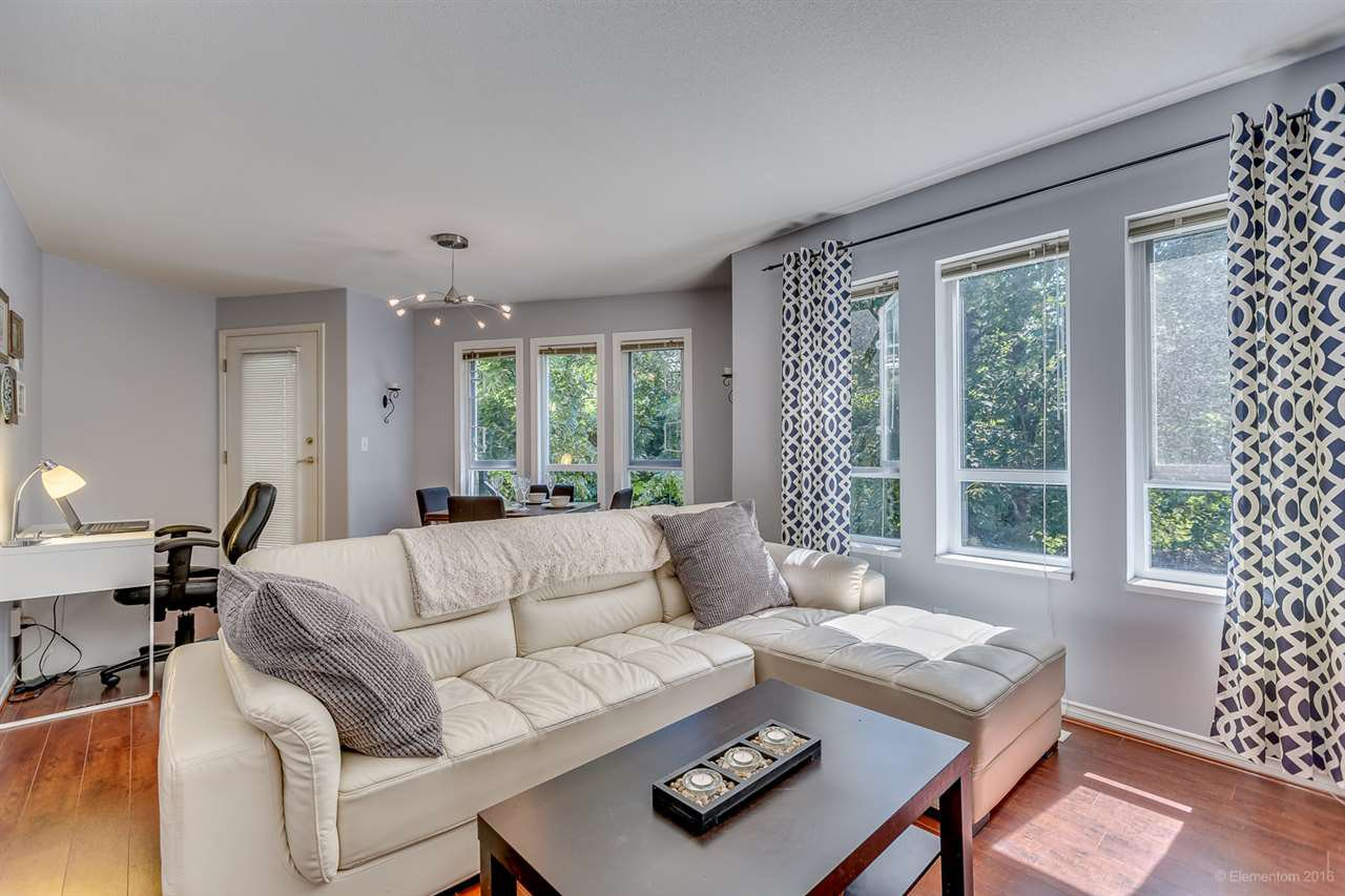 "Main Photo: 8 123 LAVAL Street in Coquitlam: Maillardville Townhouse for sale in ""RESIDENCE BOUTHOT"" : MLS®# R2087712"