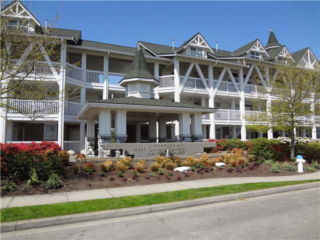 Exterior Front: Built in 2001, the Residence at River House continue to be the finest water front condo's in the area.