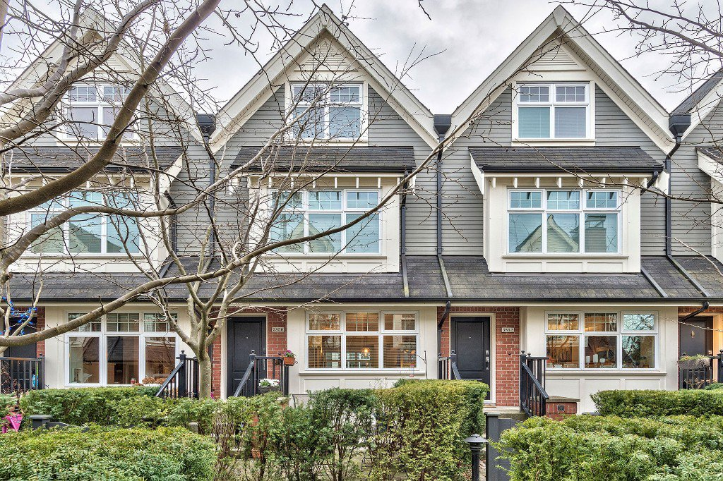 "Main Photo: 3850 WELWYN Street in Vancouver: Victoria VE Townhouse for sale in ""Stories"" (Vancouver East)  : MLS®# R2136564"