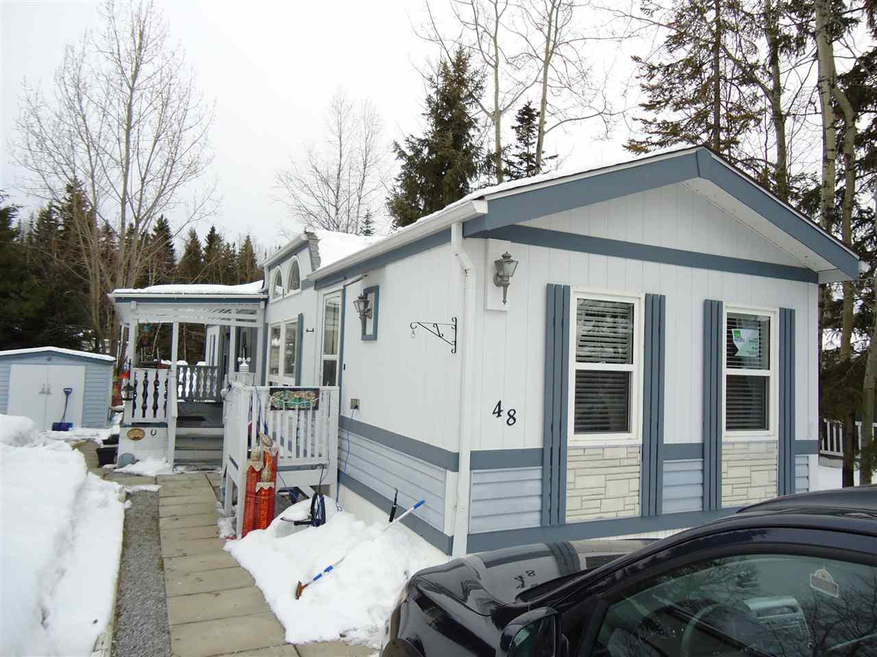 Main Photo: 48 7817 S 97 Highway in Prince George: Sintich Manufactured Home for sale (PG City South East (Zone 75))  : MLS®# R2254390