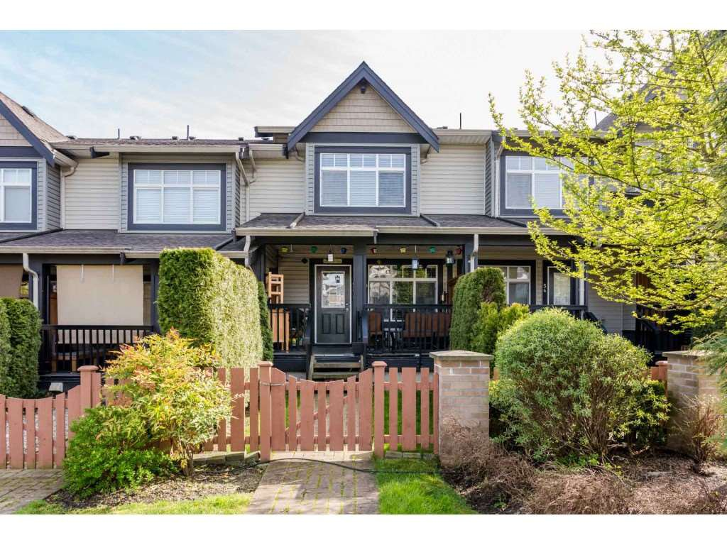 "Main Photo: 53 19448 68 Avenue in Surrey: Clayton Townhouse for sale in ""Nuovo"" (Cloverdale)  : MLS®# R2260953"