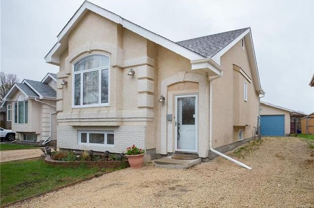 Main Photo: 273 George Marshall Way in Winnipeg: Canterbury Park Residential for sale (3M)  : MLS®# 1812800