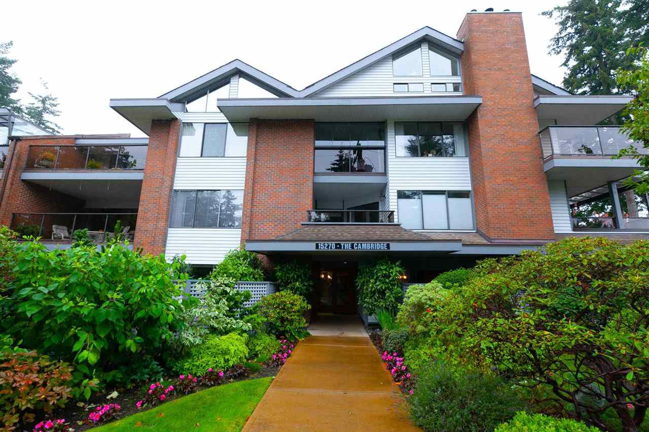 "Main Photo: 202 15270 17TH Avenue in Surrey: King George Corridor Condo for sale in ""CAMBRIDGE"" (South Surrey White Rock)  : MLS®# R2311641"