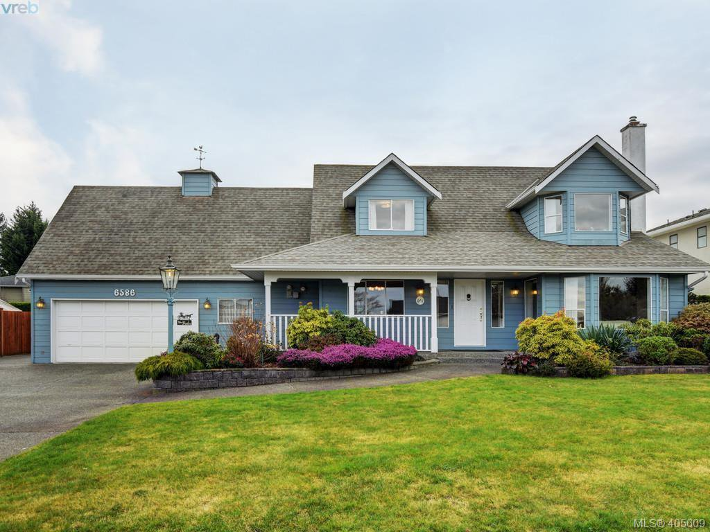 Main Photo: 6586 Bella Vista Dr in VICTORIA: CS Tanner House for sale (Central Saanich)  : MLS®# 805969