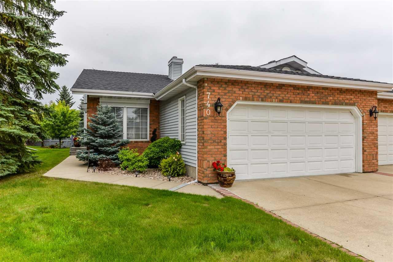 Main Photo: 740 WILKIN Close in Edmonton: Zone 22 House Half Duplex for sale : MLS®# E4208827