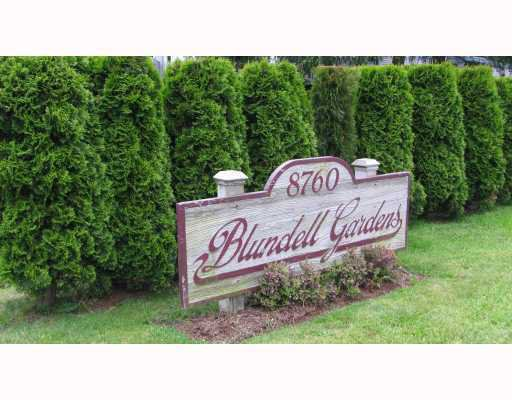 Main Photo: 308 8670 Blundell Road in Richmond: Condo for sale : MLS®# V795360