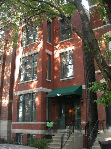 Main Photo: 1537 North Park Avenue Unit 1 in CHICAGO: Near North Side Rentals for rent ()  : MLS®# 08581671