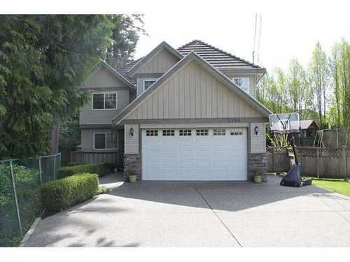 Main Photo: 2298 PORTAGE Ave in Coquitlam: Central Coquitlam Home for sale ()  : MLS®# V1005280