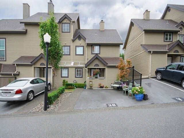 "Main Photo: 38 2736 ATLIN Place in Coquitlam: Coquitlam East Townhouse for sale in ""CEDAR GREEN ESTATES"" : MLS®# V1137675"