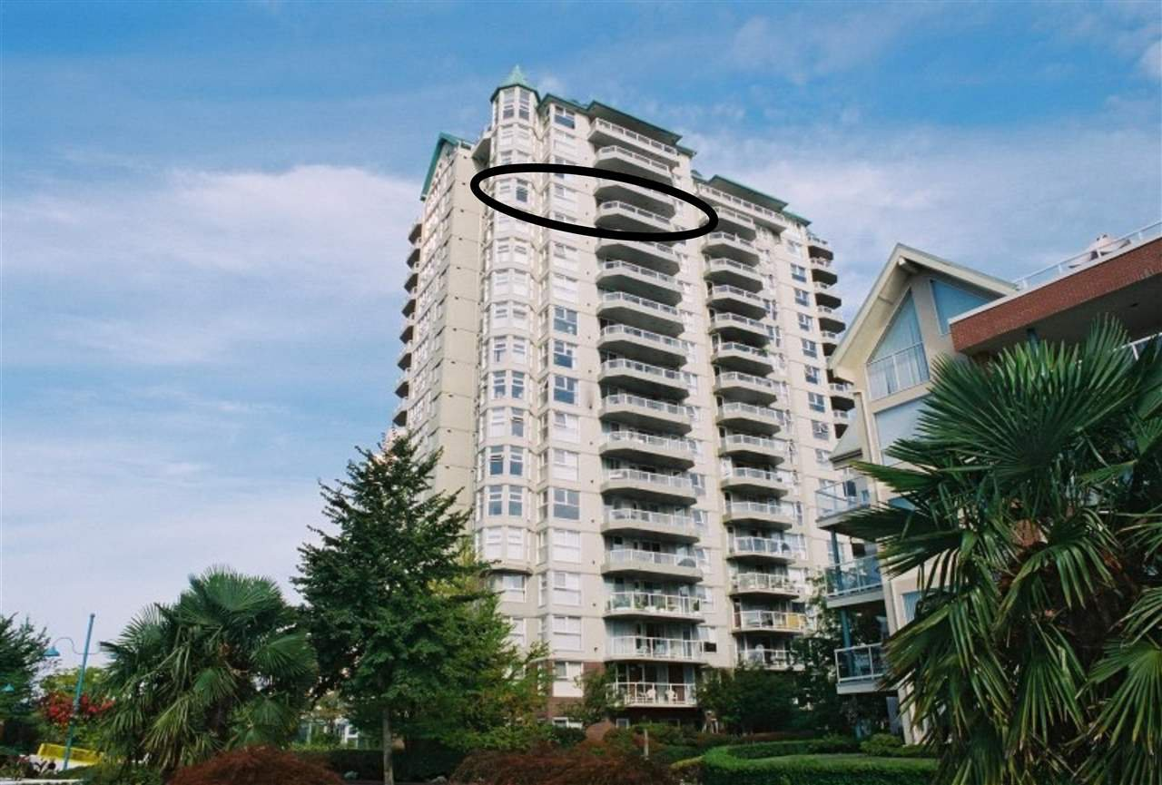 Main Photo: 1603 1250 QUAYSIDE Drive in New Westminster: Quay Condo for sale : MLS®# R2152615