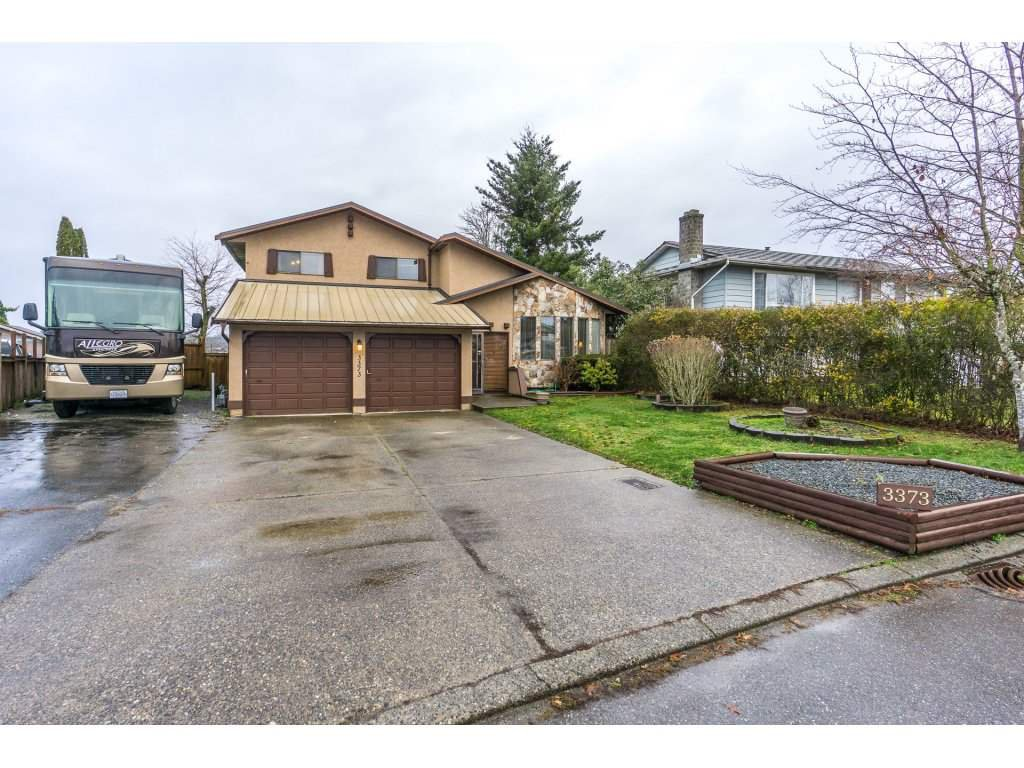 Main Photo: 3373 OKANAGAN Drive in Abbotsford: Abbotsford West House for sale : MLS®# R2235780