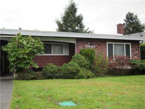 Main Photo: 10840 ROSECROFT Crescent in Montrose Estates: Home for sale : MLS®# V861175