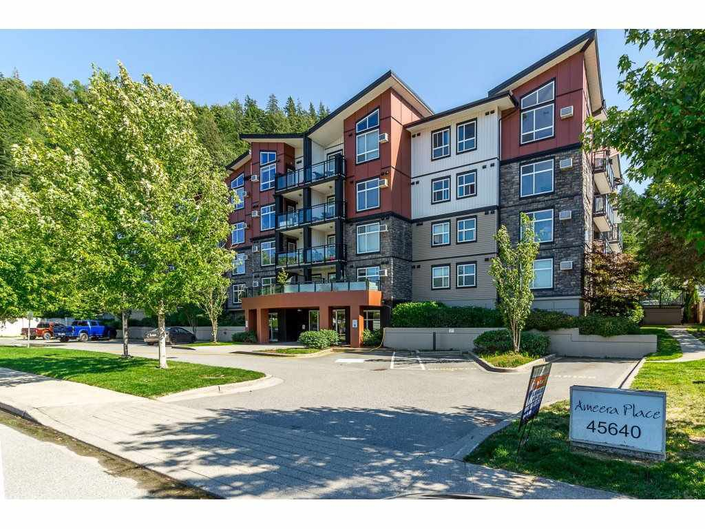"""Main Photo: 405 45640 ALMA Avenue in Sardis: Vedder S Watson-Promontory Condo for sale in """"Ameera Place"""" : MLS®# R2285583"""
