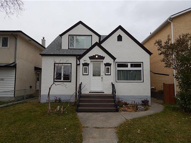 Main Photo: 563 Windsor Ave in Winnipeg: East Elmwood House for sale ()  : MLS®# 1728238