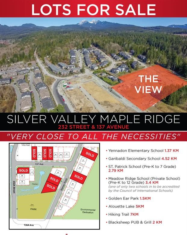 Main Photo: 13685 BLANEY Road in Maple Ridge: Silver Valley Land for sale : MLS®# R2382389