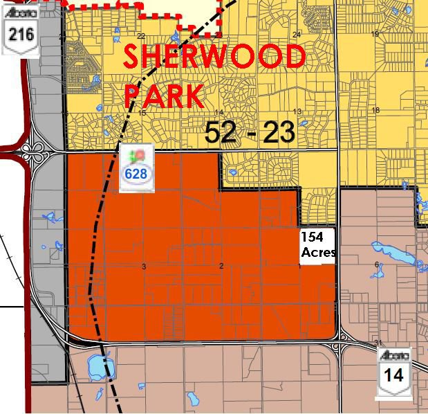 Photo 1: Photos: HIGHWAY 21 & TWP RD 521: Rural Strathcona County Rural Land/Vacant Lot for sale : MLS®# E4164759