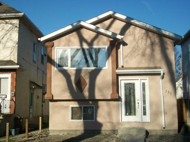 Main Photo: 331 BANNERMAN Avenue in WINNIPEG: North End Residential for sale (North West Winnipeg)  : MLS®# 1102282