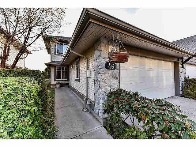 "Main Photo: 46 8888 151ST Street in Surrey: Bear Creek Green Timbers Townhouse for sale in ""CARLINGWOOD"" : MLS®# F1439129"
