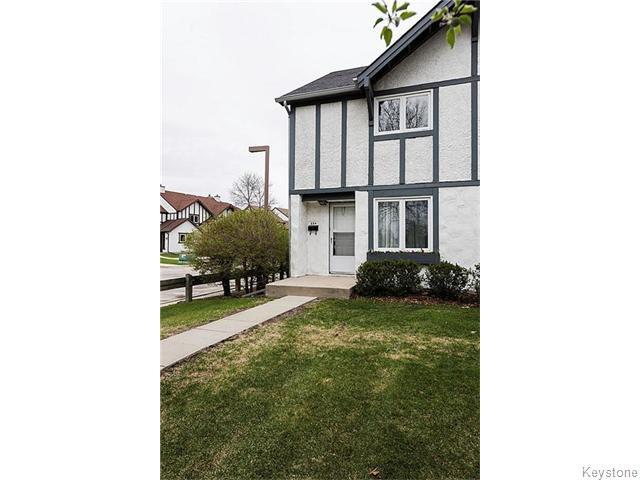 Main Photo: 35 Apple Lane in Winnipeg: Westwood / Crestview Condominium for sale (West Winnipeg)  : MLS®# 1524228