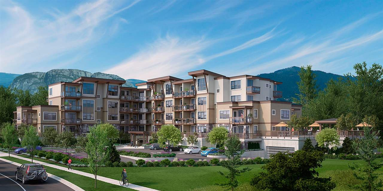 """Main Photo: 202 1150 BAILEY Street in Squamish: Downtown SQ Condo for sale in """"Parkhouse/Downtown Squamish"""" : MLS®# R2115672"""