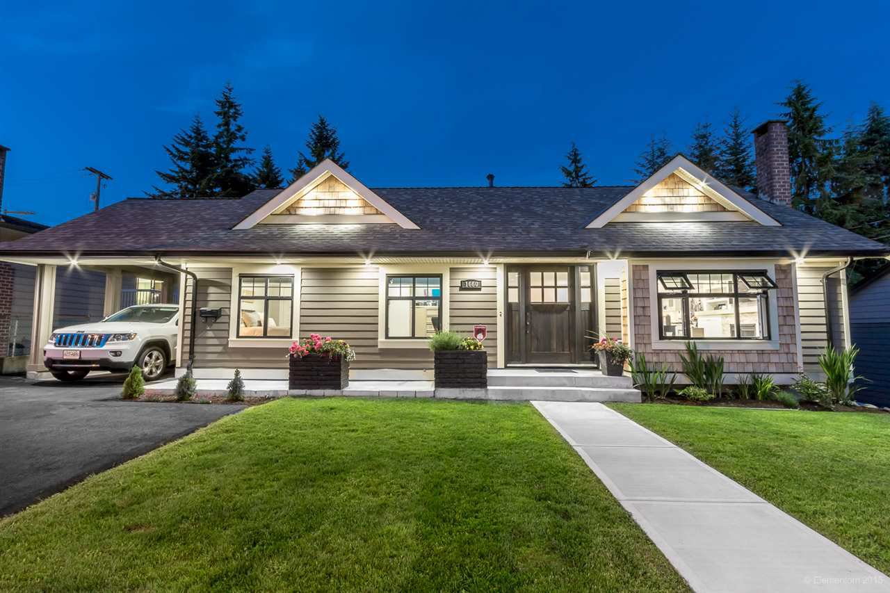 Main Photo: 1660 CHARLAND Avenue in Coquitlam: Central Coquitlam House for sale : MLS®# R2148202