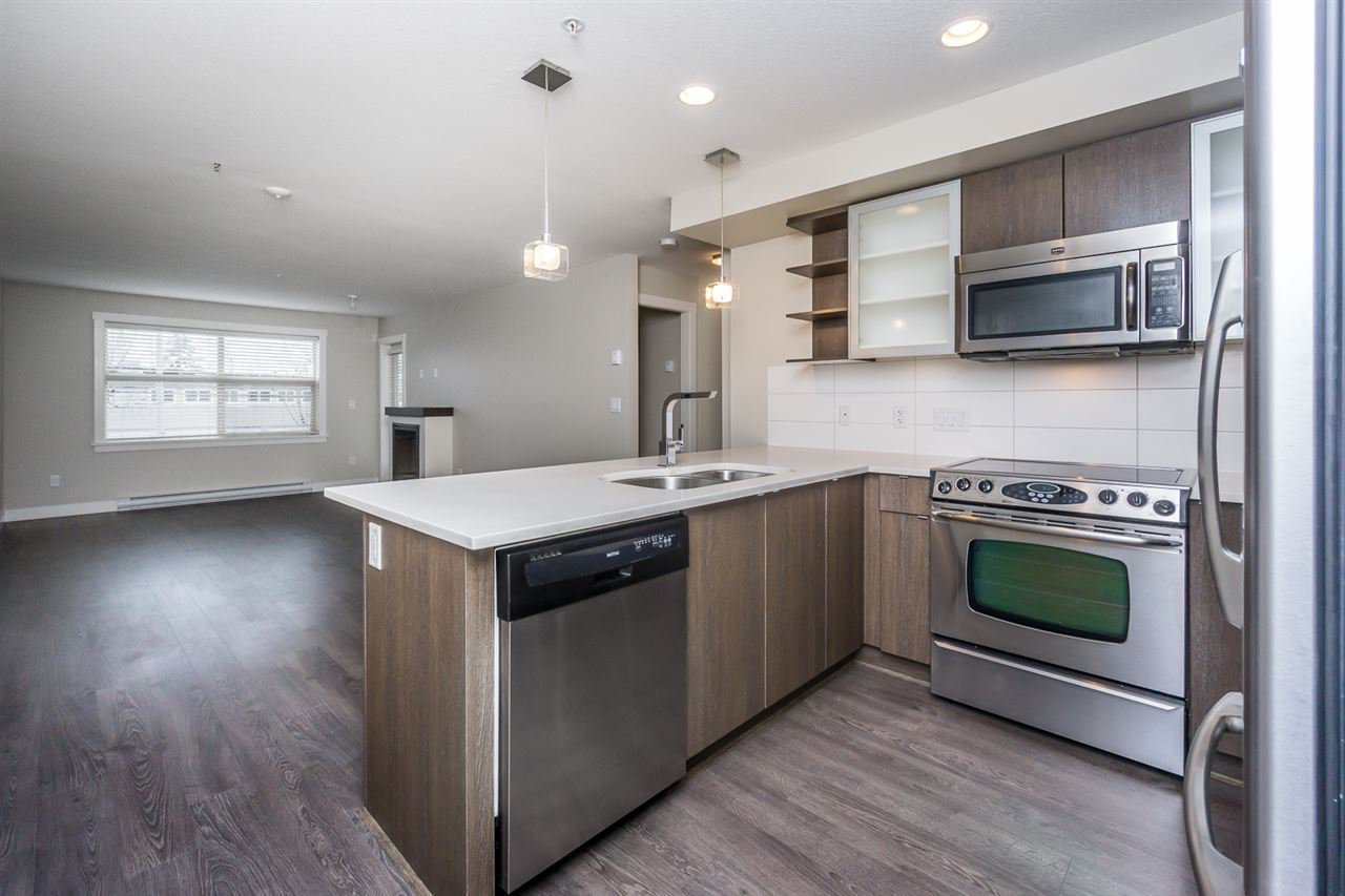 """Main Photo: 206 19936 56 Avenue in Langley: Langley City Condo for sale in """"BEARING POINTE"""" : MLS®# R2154592"""