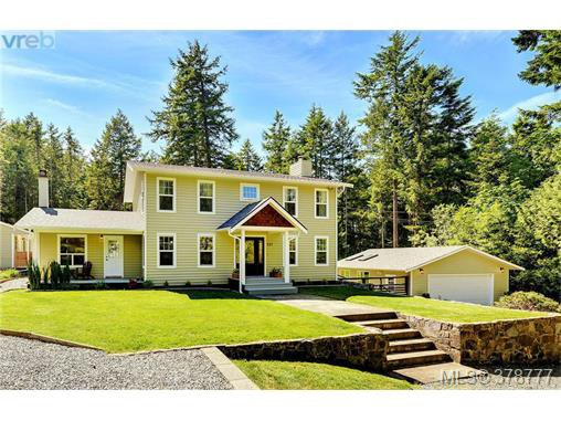 Main Photo: 607 Woodcreek Dr in NORTH SAANICH: NS Deep Cove House for sale (North Saanich)  : MLS®# 760704