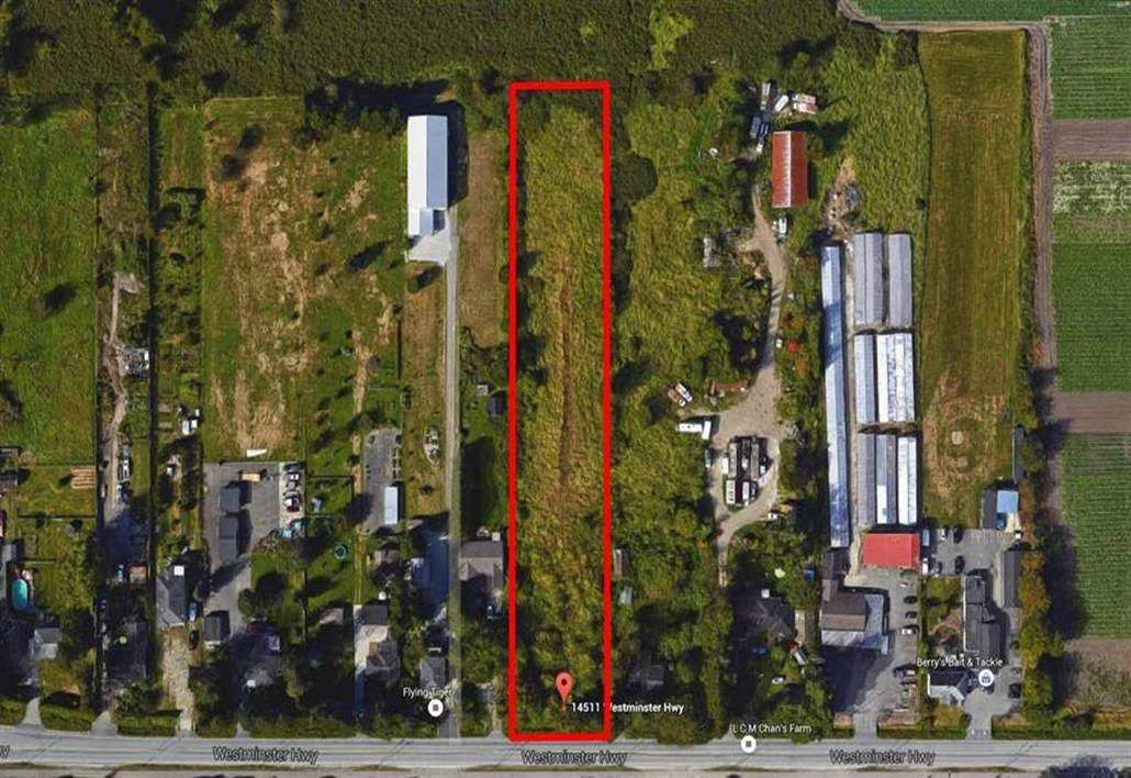 Main Photo: 14511 WESTMINSTER Highway in Richmond: East Richmond Land for sale : MLS®# R2212041