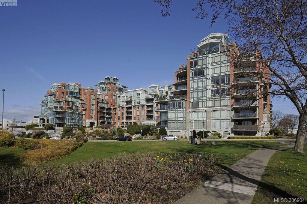 Main Photo: 516 21 Dallas Road in VICTORIA: Vi James Bay Condo Apartment for sale (Victoria)  : MLS®# 386904