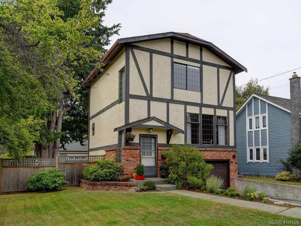 Main Photo: 1010 Transit Road in VICTORIA: OB South Oak Bay Single Family Detached for sale (Oak Bay)  : MLS®# 416109