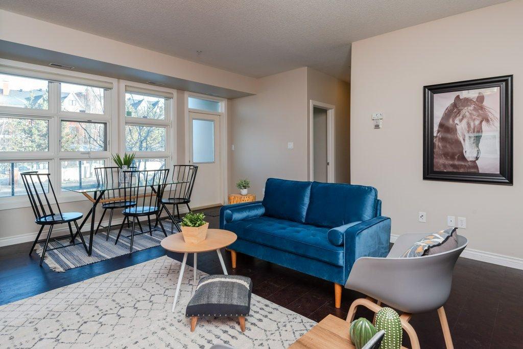 Main Photo: 109 9603 98 Avenue in Edmonton: Zone 18 Condo for sale : MLS®# E4187320