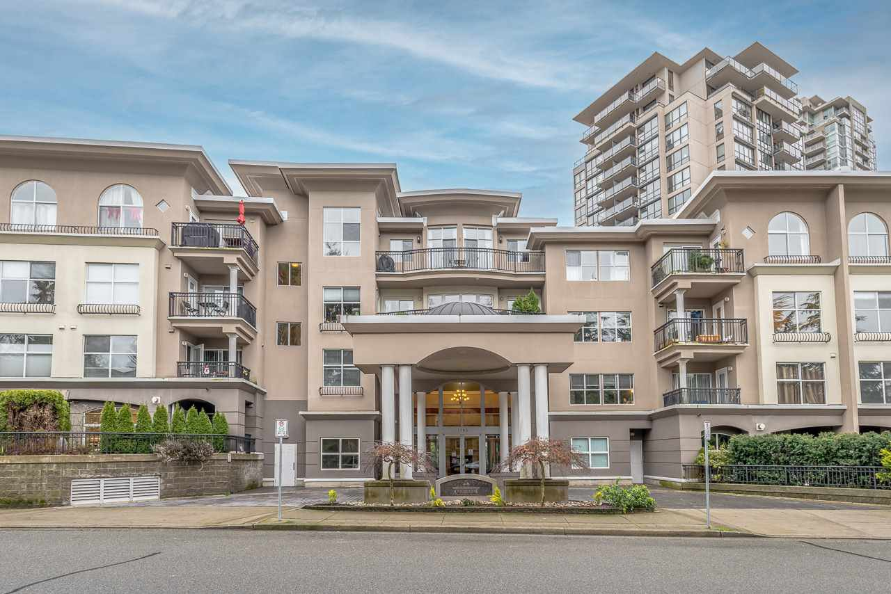 "Main Photo: 308 1185 PACIFIC Street in Coquitlam: North Coquitlam Condo for sale in ""CENTREVILLE"" : MLS®# R2528120"